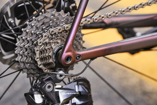 The Gears On A Bicycle Frame